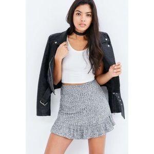 Urban Outfitters Silence & Noise Ruffle Hem Skirt